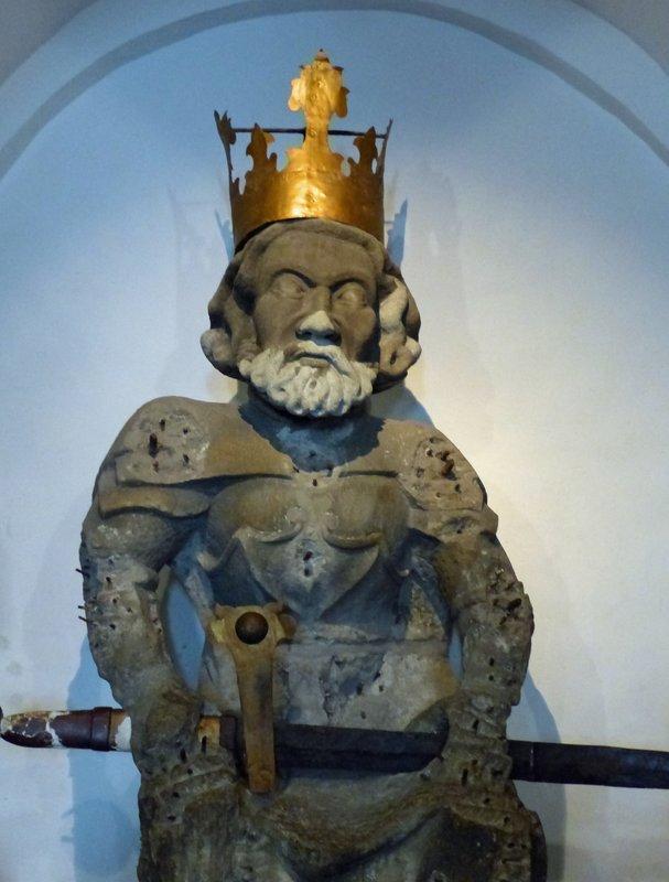 Charlemagne, Grossmünster, Zurich