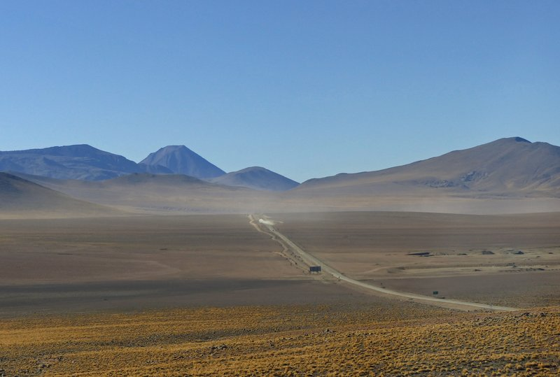 Road through the Atacama