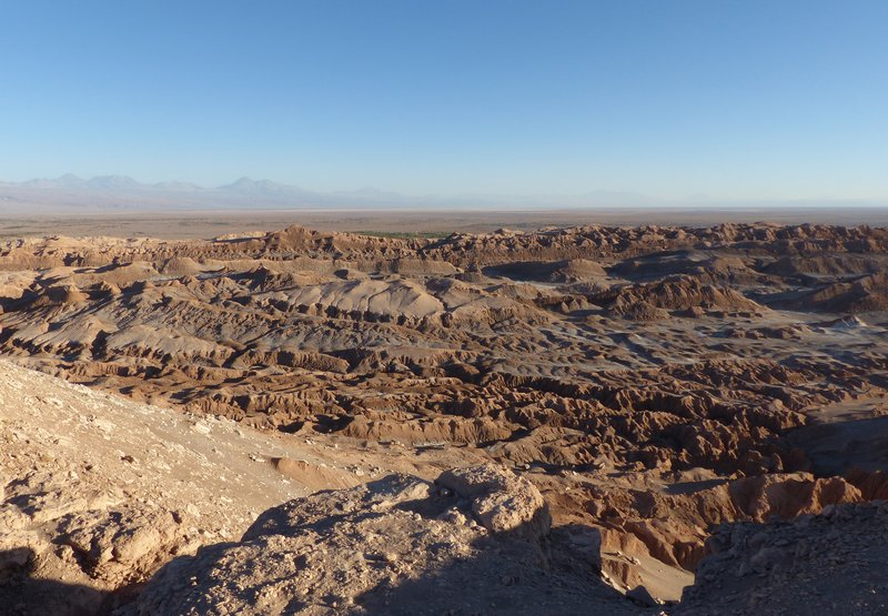 Valle de la Luna from the Mirador de Kari