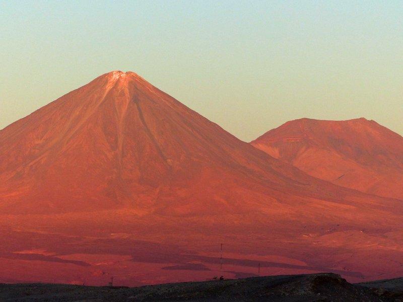 Sunset, Mirador de Kari, Atacama Desert