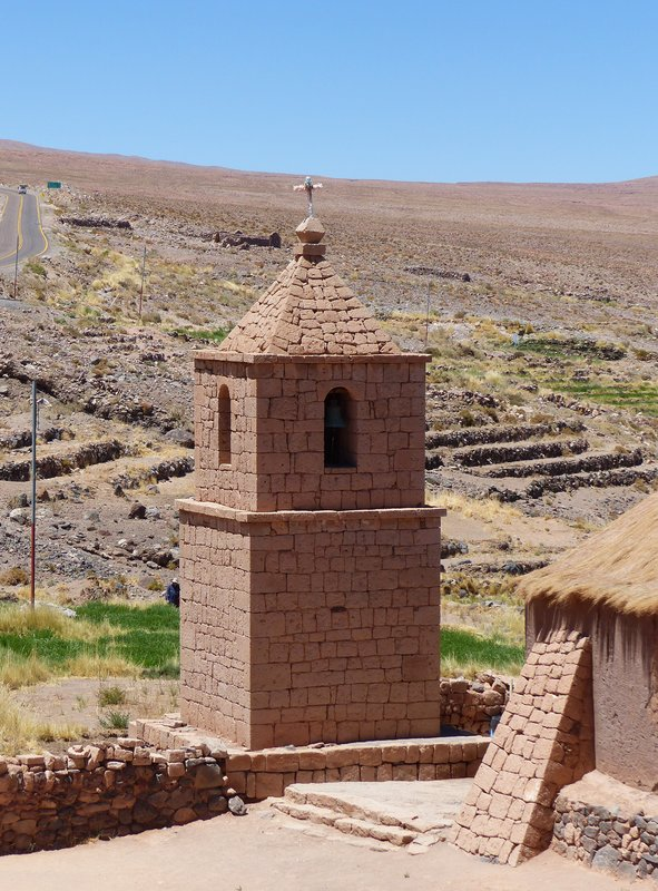 Socaire church, Atacama Desert