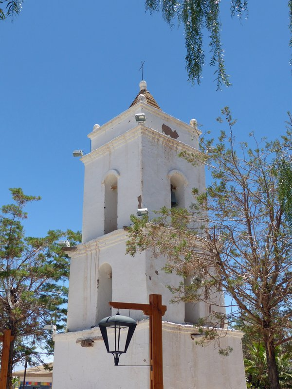 Church tower, Toconao, Atacama Desert
