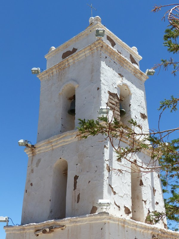 Church bell tower, Toconao, Atacama Desert