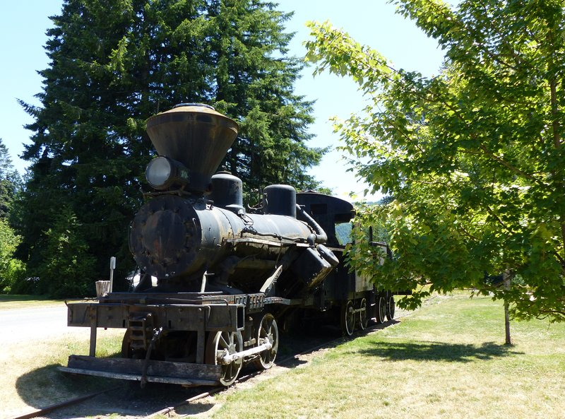 Old steam train, Elbe WA