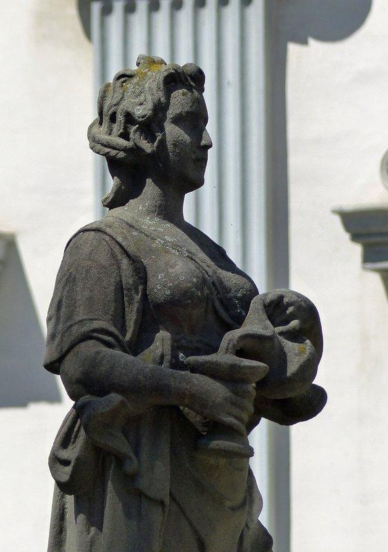 Statue in old Zurich