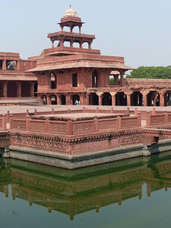 Anup Talao and Panch Mahal - Fatehpur Sikri