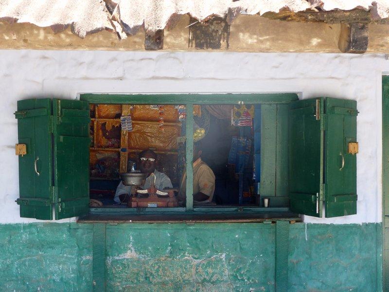 Local shop, Munnar