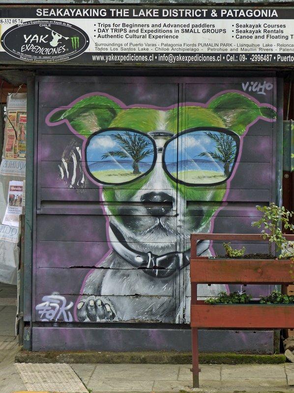 Street art, Puerto Varas