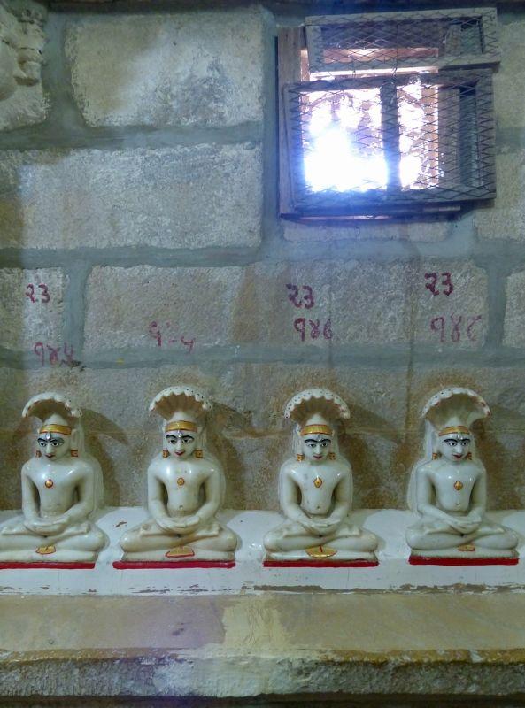 In Chandraprabhu Jain temple - Jaisalmer Fort