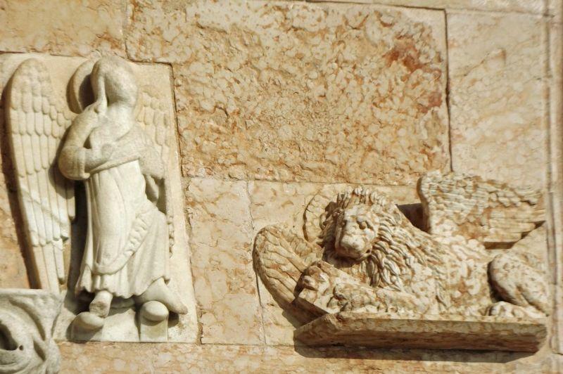 Duomo detail - Ancona