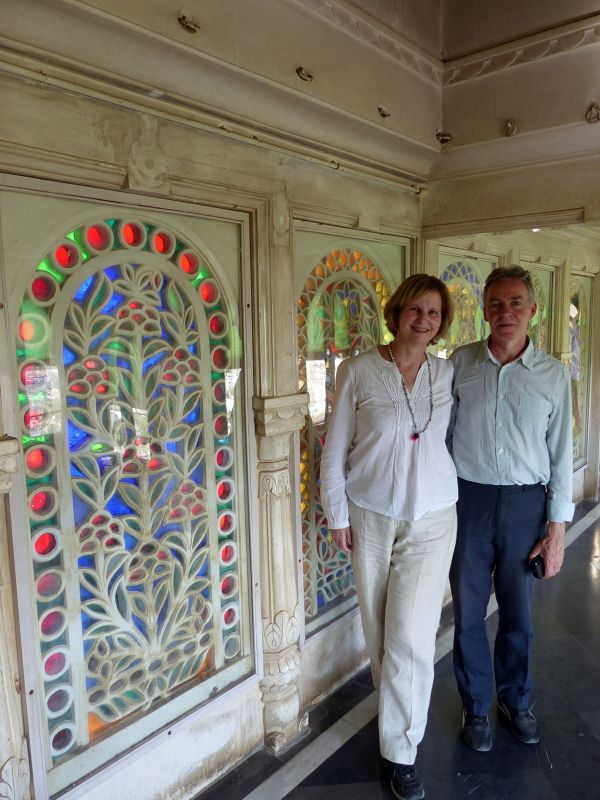 Sightseeing in the City Palace, Udaipur