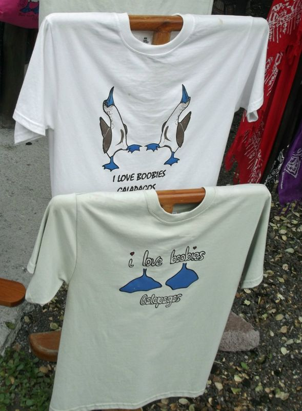 Typical t-shirts - Puerto Ayora, Santa Cruz