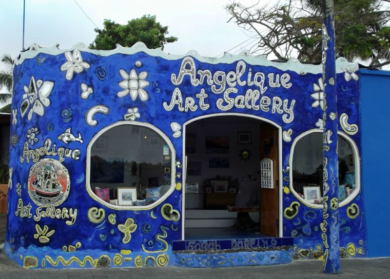 Colourful gallery - Puerto Ayora, Santa Cruz