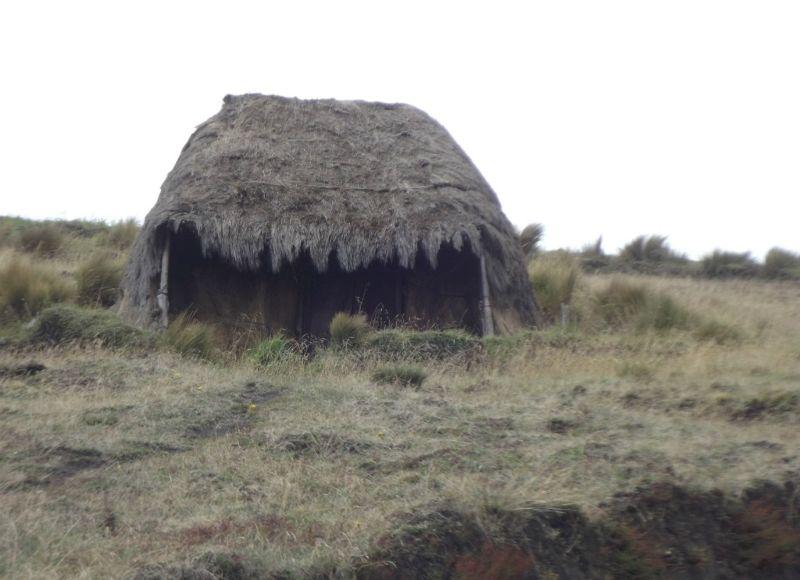Traditional home - near Laguna Quilotoa
