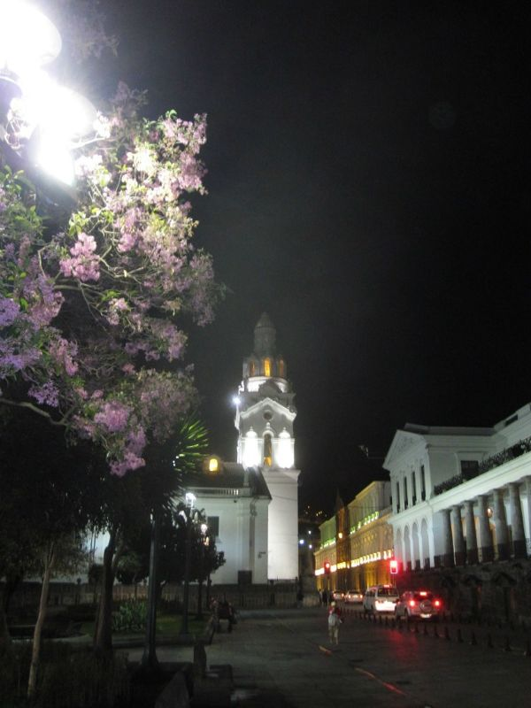 In Plaza de la Independencia - Quito