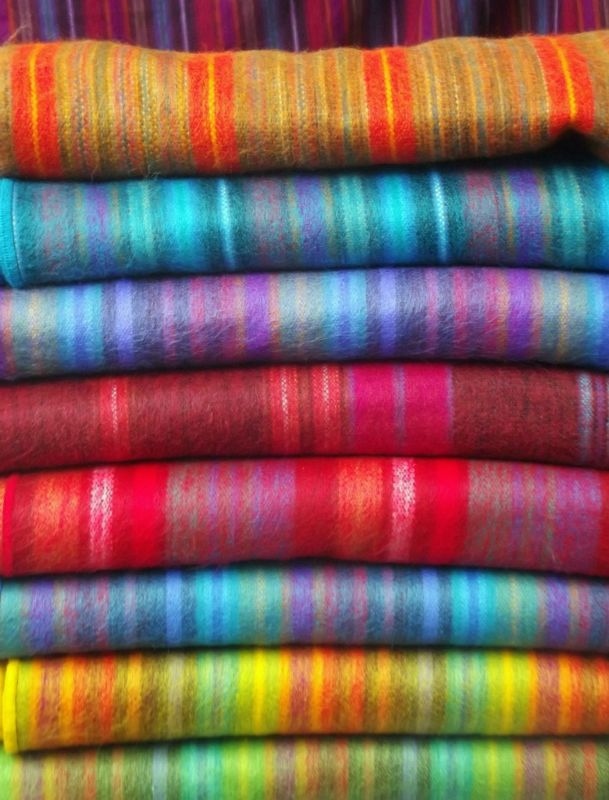 Scarves for sale - Otavalo