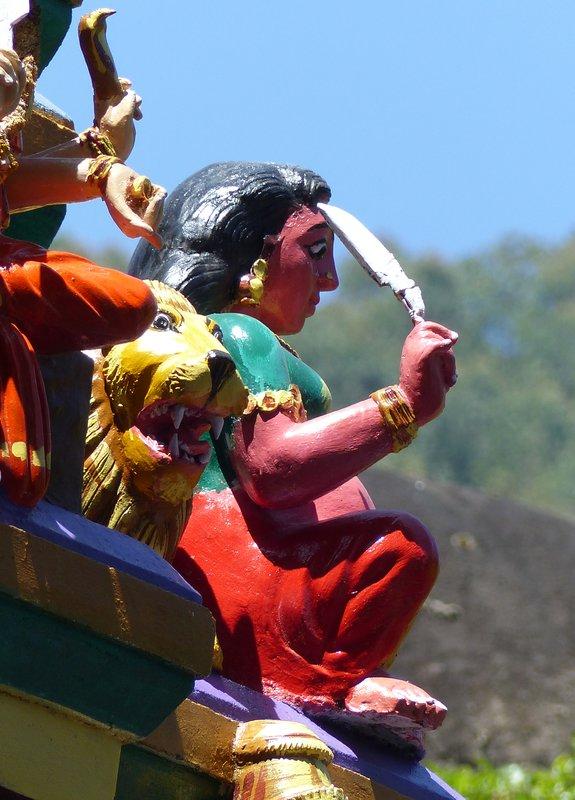 Temple near Munnar