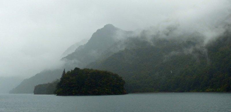 Island on Lago Todos los Santos