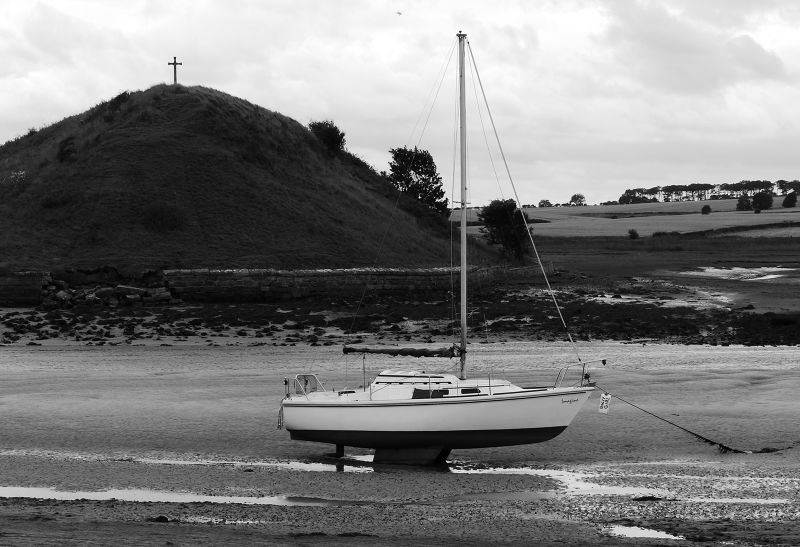 Aln estuary and Church Hill - Alnmouth