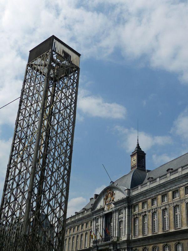 In the Place Saint Lambert - Liège