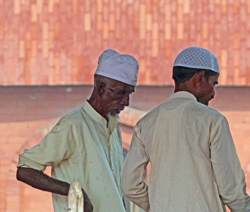 At Jama Masjid - Delhi