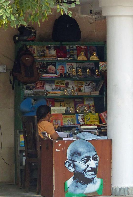 Souvenir stall at Raj Ghat - Delhi
