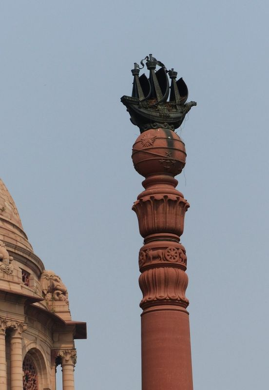 Dominion Column at the Presidential Palace - Delhi