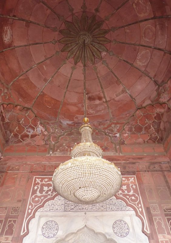 Jama Masjid, prayer Hall ceiling - Delhi