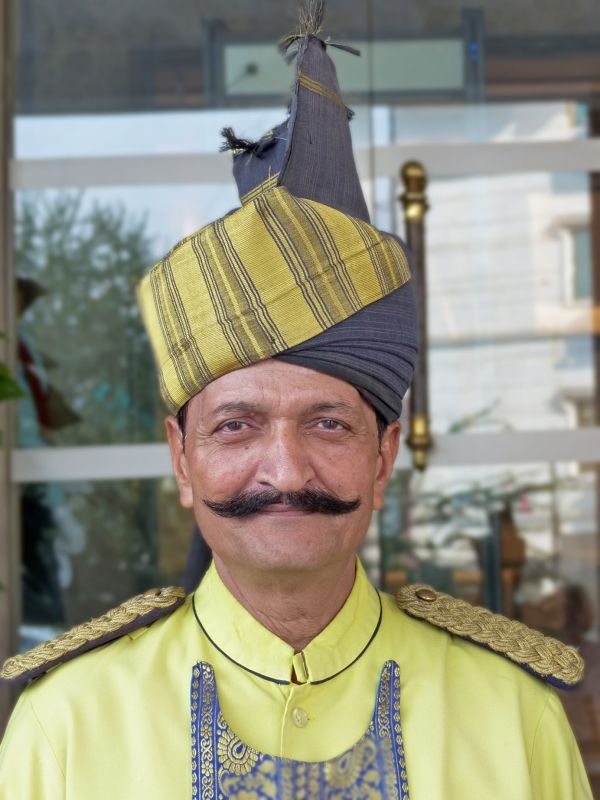 Friendly doorman - Delhi