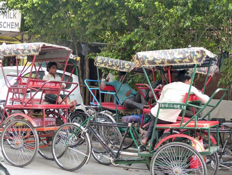 Rickshaws in Old Delhi - Delhi