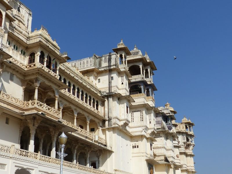 City Palace from Manek Chowk, Udaipur