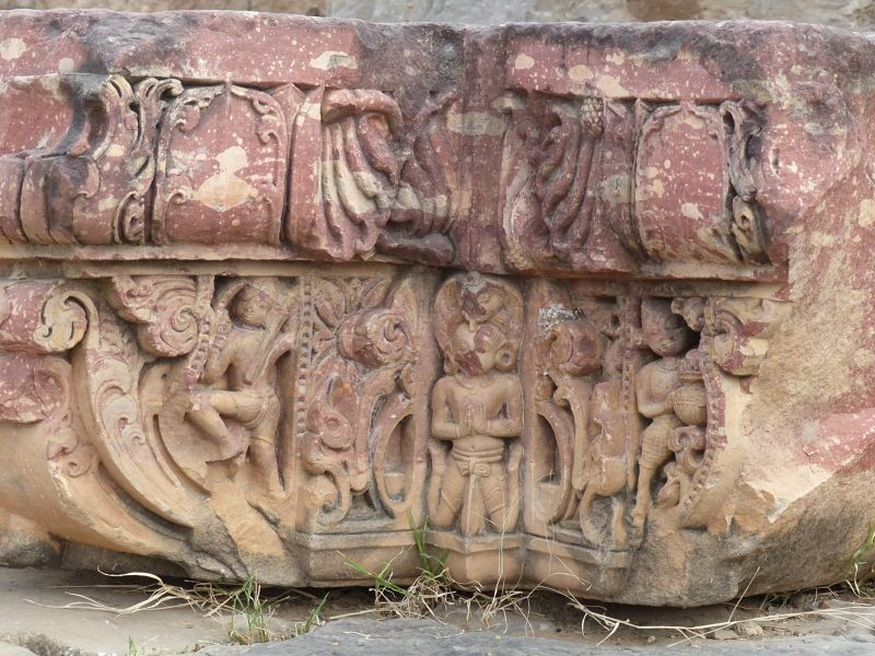 Carving at the temple - Abhaneri