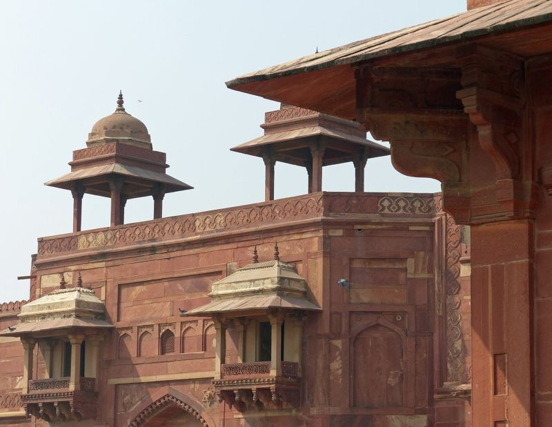 Entrance gate - Fatehpur Sikri
