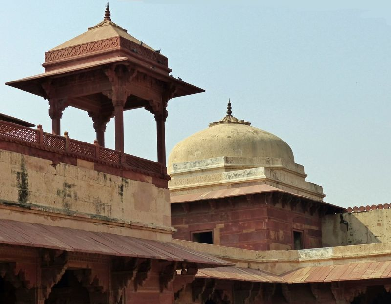 Roof of bedroom - Fatehpur Sikri