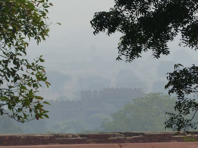 View from the palace - Fatehpur Sikri
