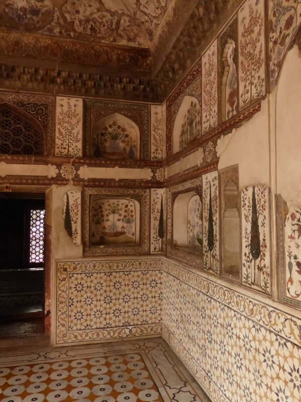 Interior of the Itmad-ud-Daula - Agra