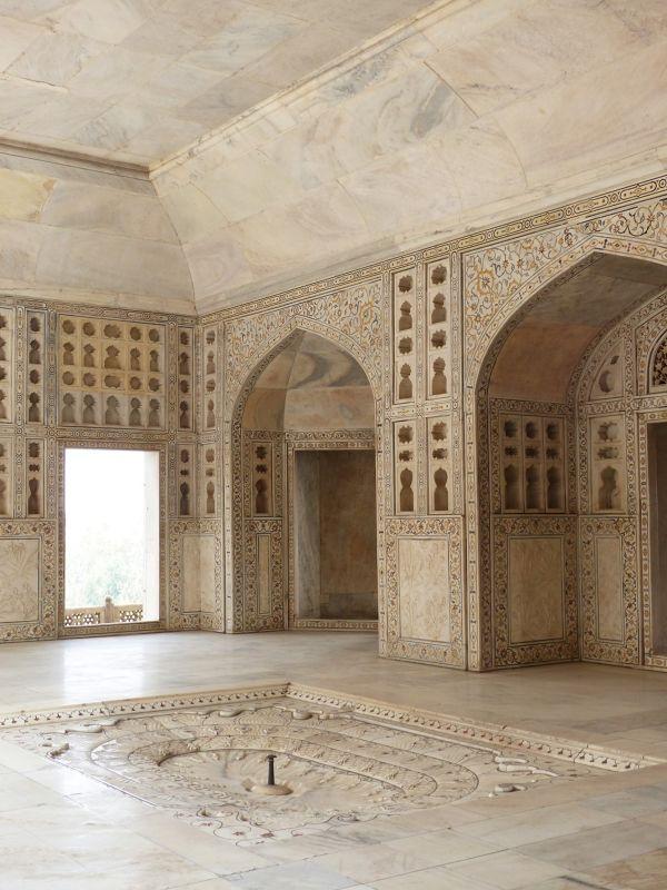 Inside the Khas Mahal, Agra Fort - Agra