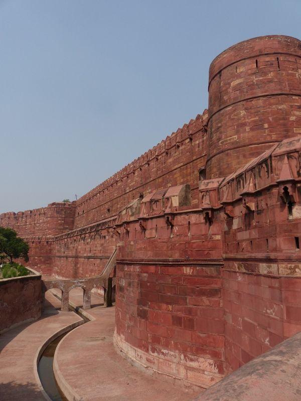 Agra Fort: Akhbar's fort - Agra