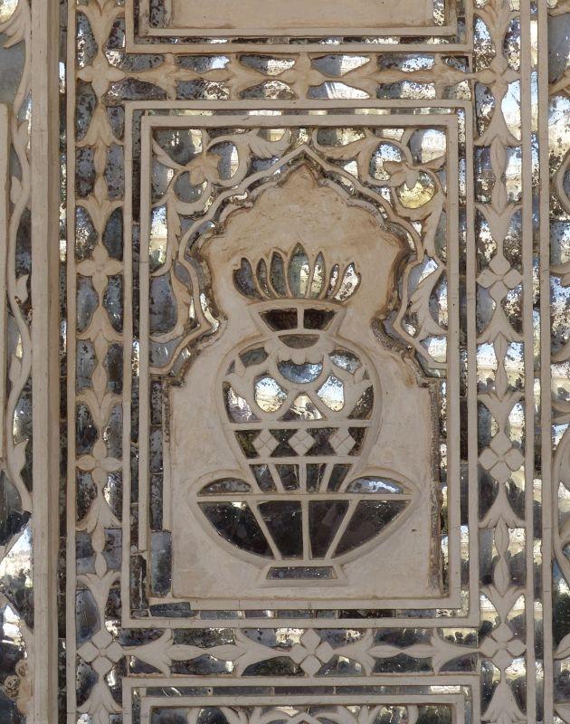 Sheesh Mahal detail - Amer