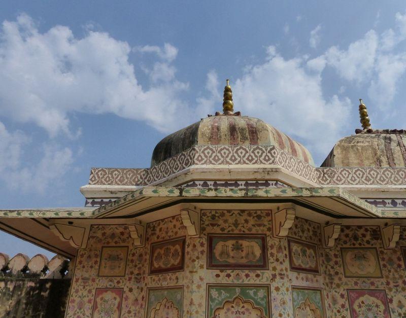 Ganesh Pol roof - Amer