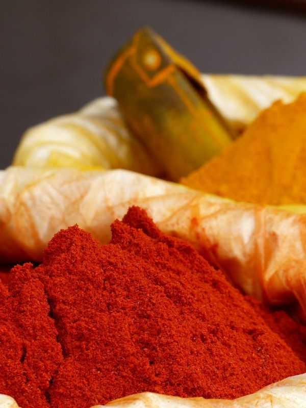 Chilli powder and turmeric - Jaipur