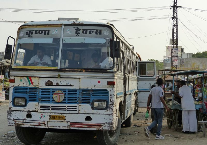 Bus stop - Khimsar