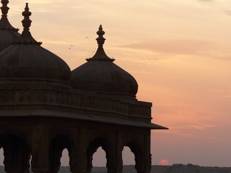 Sunset at Vyas Chhatri - Jaisalmer