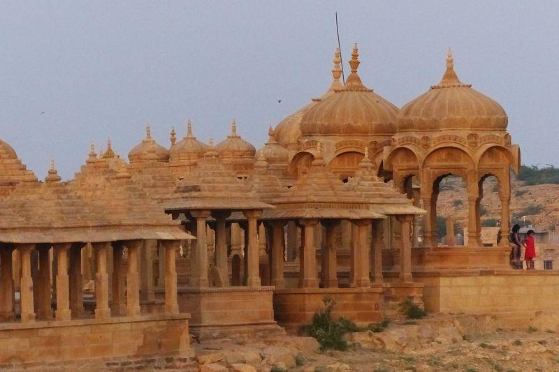 Sunset at Vyas Chhatri - Jaisalmer