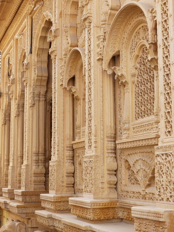 In the old town - Jaisalmer