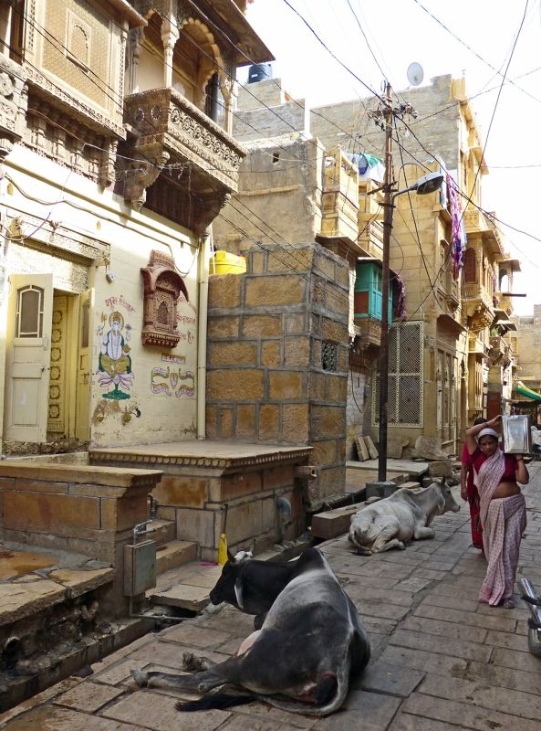 Streets of the old town - Jaisalmer