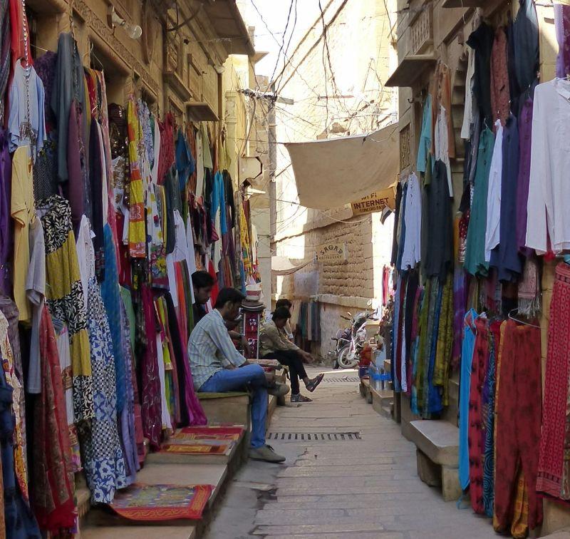 Typical street - Jaisalmer Fort