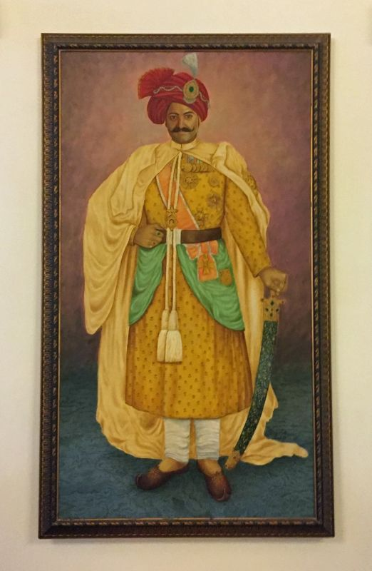 Portrait in the restaurant, Fort Rajwada - Jaisalmer