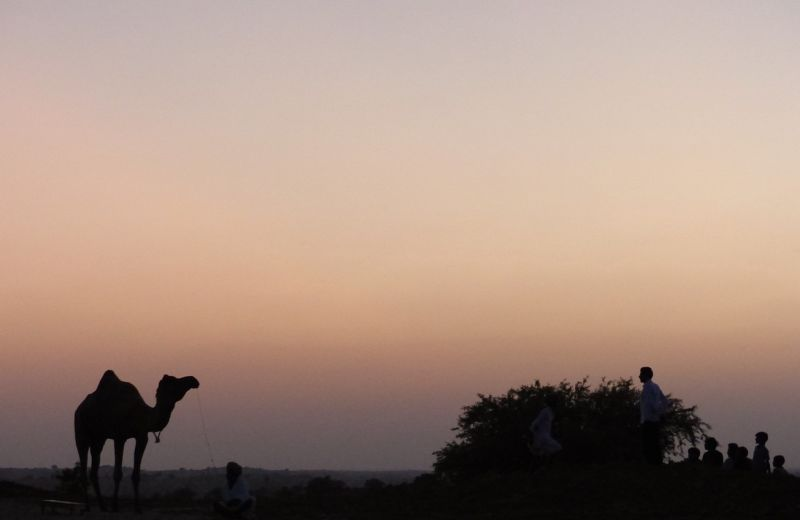 Into the desert - Dechu