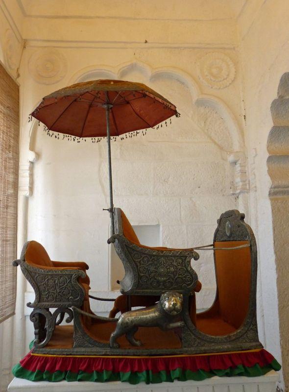 Howdah in Mehrangarh Fort - Jodhpur